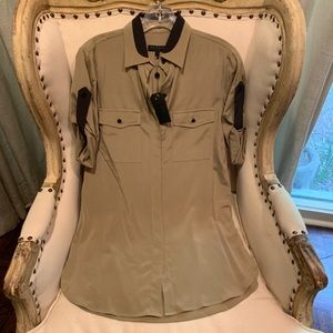 New Rag & bone silk tunic top/dress